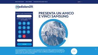 Banca Mediolanum S.p.A. | Accesso clienti