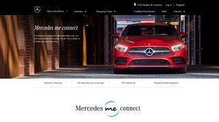 Mercedes me connect   Mercedes-Benz USA