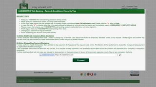 HabibMetro Bank : Web Login - Habib Metropolitan Bank