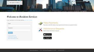 Login to The Metropolitan Resident Services | The Metropolitan