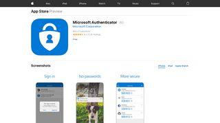 Microsoft Authenticator on the App Store - iTunes - Apple