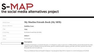 My Muslim Friends Book (My MFB) · The Social Media Alternatives ...