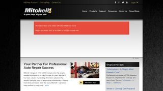 Mitchell 1 website