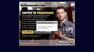OnDemand5.com: online auto repair, estimating, and service information