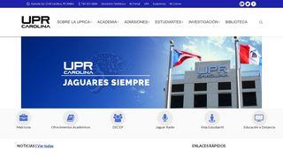 UPR Carolina: Universidad de Puerto Rico Carolina