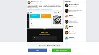 MktCoin - Firstly, you must sign up and buy a package of... | Facebook