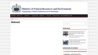 Webmail - MNRE