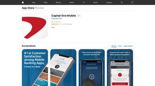 Capital One Mobile on the App Store - iTunes - Apple