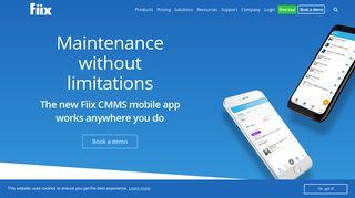 Mobile CMMS App: Work Order & Maintenance App   Fiix