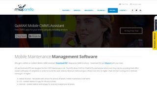 Mobile Maintenance Management Software   Mobile Workforce ...