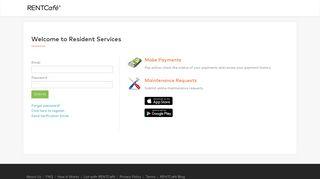 RENTCafé Resident Login » Pay Rent Online & Submit Maintenance ...