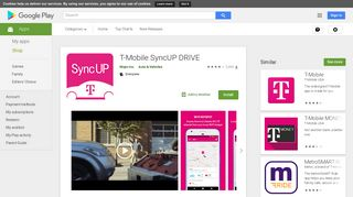 T-Mobile SyncUP DRIVE - Apps on Google Play