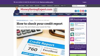 How to check your credit report - Money Saving Expert