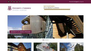 here. - University of Limerick