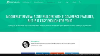 MoonFruit Review: A Site Builder with E-Commerce Features, but Is It ...