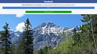 Mount Kidd RV Park - Home | Facebook - Facebook Touch