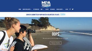 Log In - MPA Watch