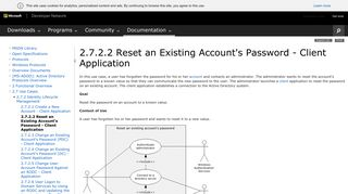 [MS-ADOD]: Reset an Existing Account's Password ... - MSDN - Microsoft