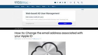 How-to: Change the email address associated with your Apple ID ...