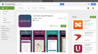 Control Card Prepaid - Apps on Google Play