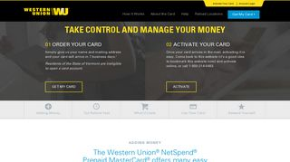 How It Works | Western Union NetSpend Prepaid MasterCard