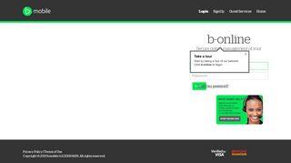 b-online: Login