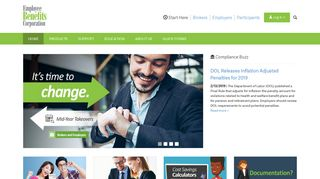 Employee Benefits Corporation | National Third Party Administrator