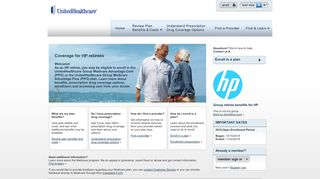 HP Retirees – Home - UnitedHealthcare Group Retiree