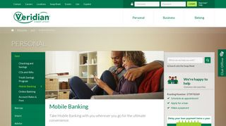 Mobile Banking – Download Our App – Personal Banking - Veridian