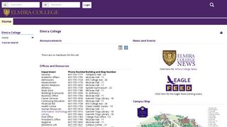 Elmira College: Home