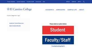 MyECC - El Camino College Portal