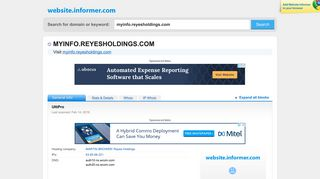 myinfo.reyesholdings.com at Website Informer. UltiPro. Visit Myinfo ...