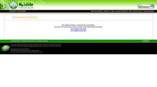 My.LaSalle University Portal : User Login - My DLSU - De La Salle ...