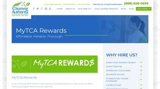 MyTCA Rewards | Home Cleaning Services - The Cleaning Authority