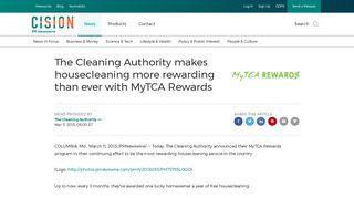 The Cleaning Authority makes housecleaning more rewarding than ...
