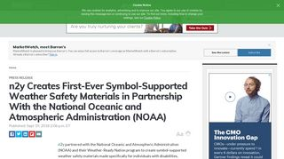 n2y Creates First-Ever Symbol-Supported Weather Safety Materials in ...