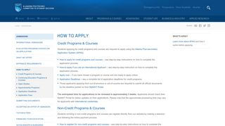 How To Apply - NAIT