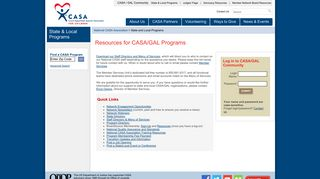 State and Local Programs - National CASA - CASA for Children