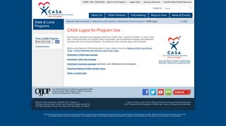 CASA Logos - National CASA - CASA for Children