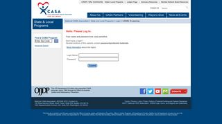 LOGIN: E-Learning - National CASA - CASA for Children