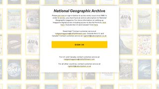 The National Geographic Archive | April 2018 | page 1