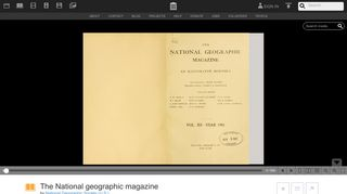 The National geographic magazine - Internet Archive