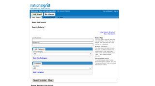 national grid jobs