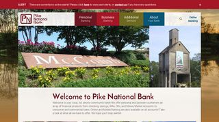Pike National Bank | Checking/Saving | Loans | Mobile Banking
