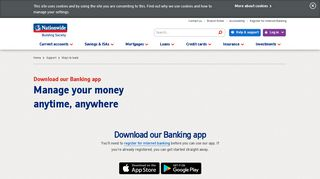 Download our Banking App | Nationwide