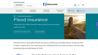 Flood Insurance Coverage from Nationwide