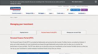Personal Finance Portal | Nationwide