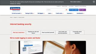 New Login Experience: Internet Banking Security | Nationwide