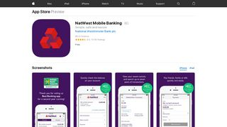 NatWest Mobile Banking on the App Store - iTunes - Apple