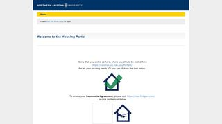 Northern Arizona University - StarRez Portal - Welcome to the Housing ...